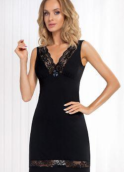 Donna Stella nightdress Black