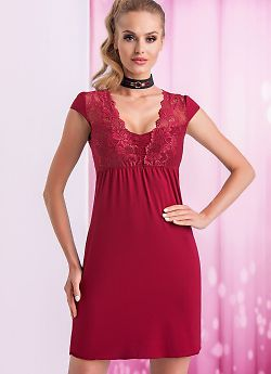 Donna Taylor nightdress Burgundy