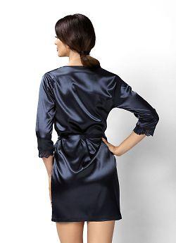 Donna Venus dressing gown Dark Blue