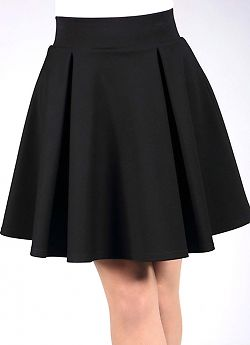 Giulia Pleat Mini Skirt