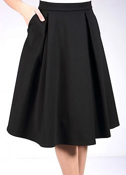 Giulia Pleat Skirt
