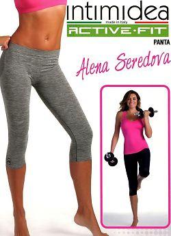 Intimidea Panta 3/4 Donna Active-Fit Melange