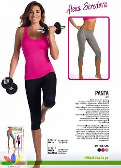 Intimidea Panta 3/4 Donna Active-Fit