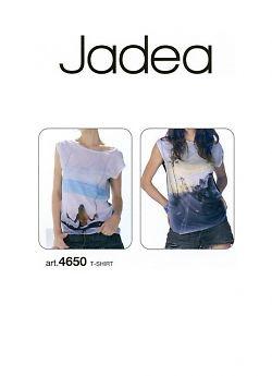 Футболка женская Jadea 4650 T-shirt