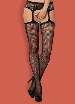 Obsessive S 232 garter stockings