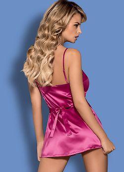 Obsessive Satinia babydoll Pink