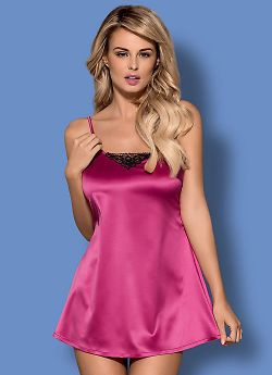 Obsessive Satinia babydoll Pink