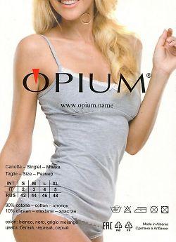 Женская майка из хлопка Opium M-2