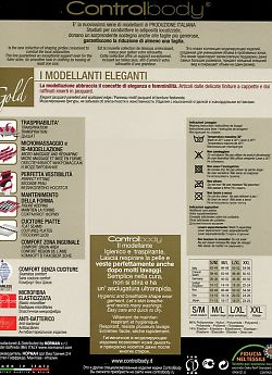 Slip Corsetto Controlbody Gold