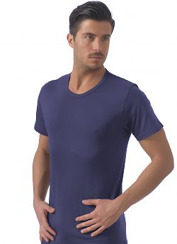 Snelly Sn 7013 T-Shirt Scollo Tondo Uomo