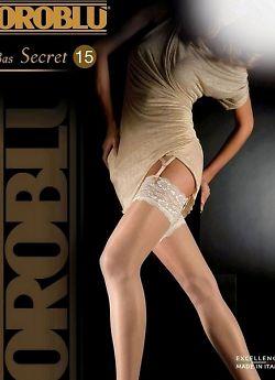 Чулки под пояс Oroblu Secret 15