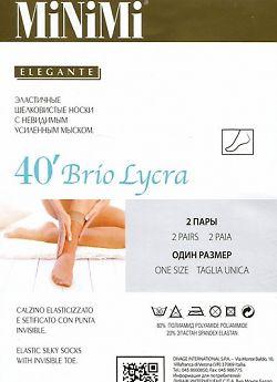 Шелковистые эластичные носки MiNiMi Brio 40
