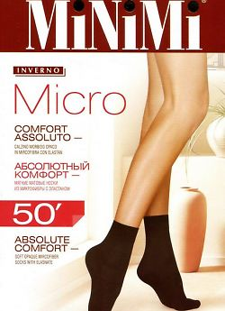 Носки из микрофибры MiNiMi Micro 50