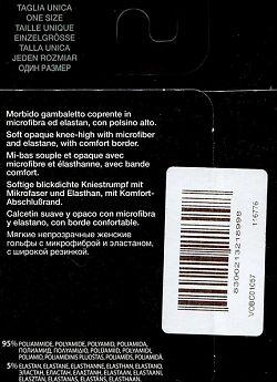 Гольфы из микрофибры Oroblu Mi Bas Opaque 50