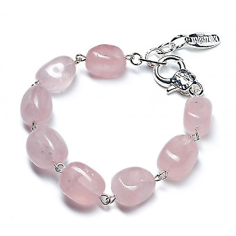 Браслет из розового кварца Lanzerotti Rose