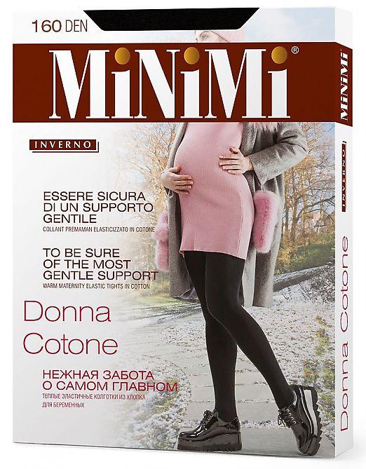 Колготки для беременных MiNiMi Donna Cotone 160