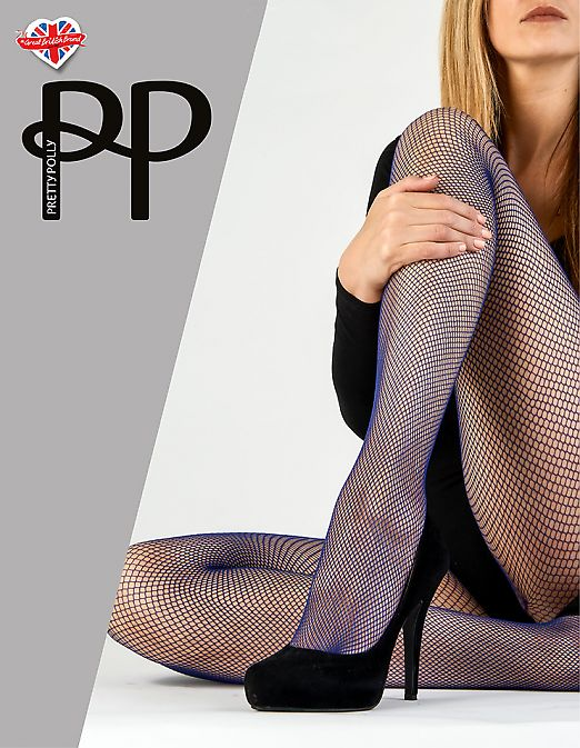 Pretty Polly Coloured Fishnet Tights AWK6