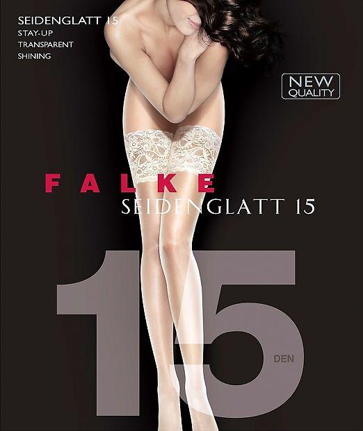 Falke Seidenglatt 15 Stay-Up