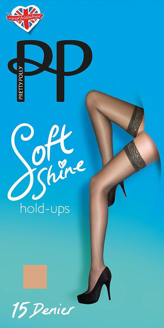 Pretty Polly Soft Shine 15 Hold Ups AC13