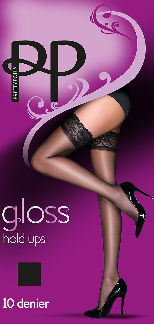 Pretty Polly Gloss Hold Ups AEU5