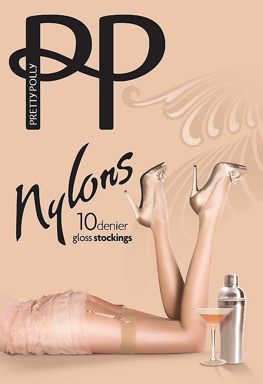 Pretty Polly Nylon Gloss Stockings 10 Den
