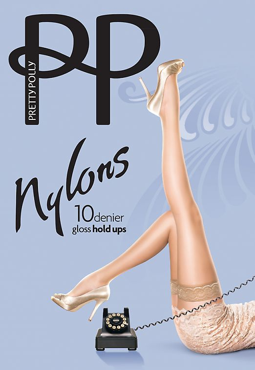Pretty Polly Nylons Gloss 10 Den Hold Ups