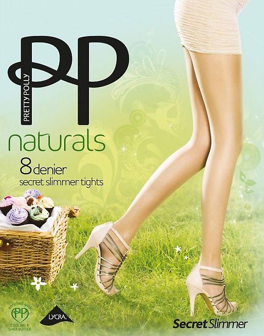 Pretty Polly Naturals 8 Den Secret Slimmer APA8