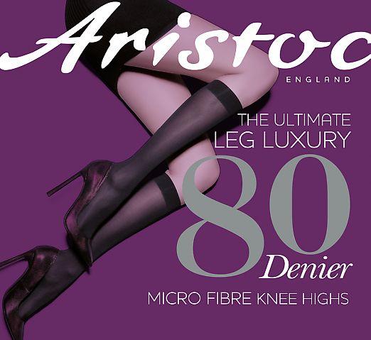 Aristoc 80 Den Microfiber Opaque  ASM3