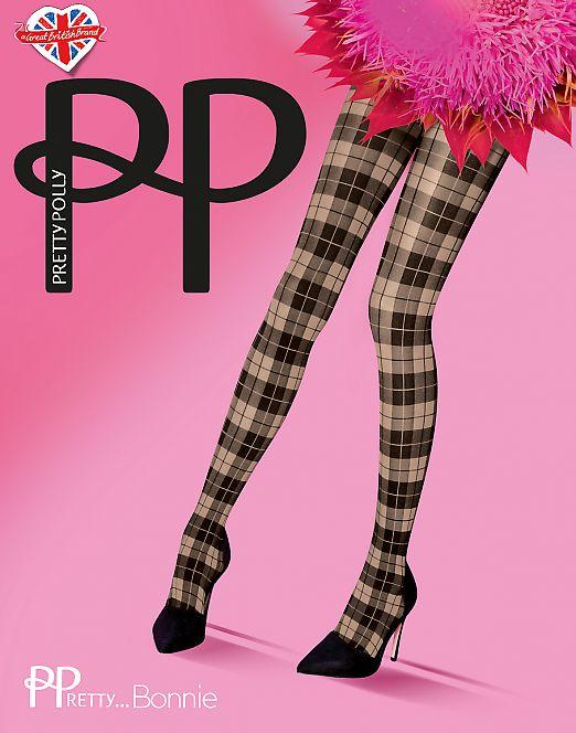 Pretty Polly Bonnie/Tartan ASP6