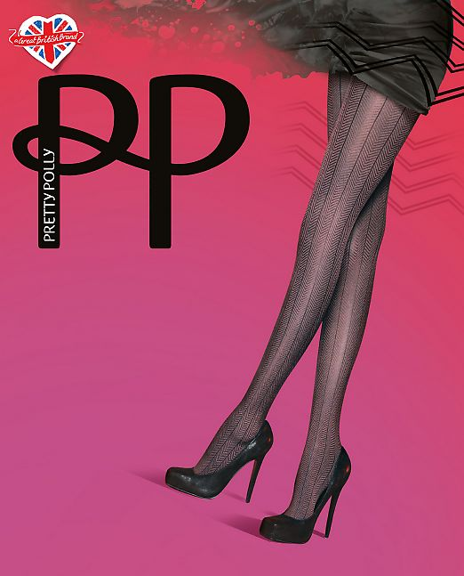 Pretty Polly Chevron AUK5