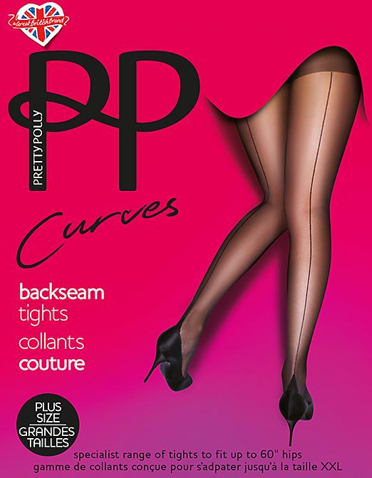Pretty Polly Curves Backseam AUN5