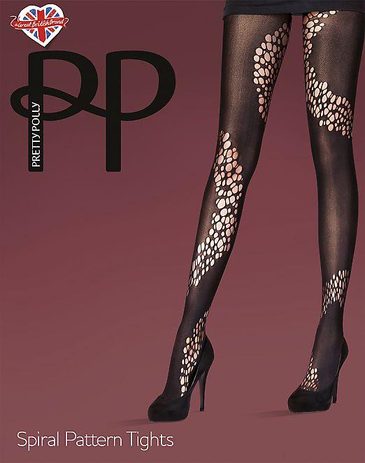 Pretty Polly Spiral pattern AUY1