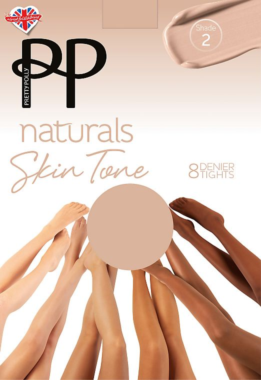 Pretty Polly Naturals Skin Tone AVH5