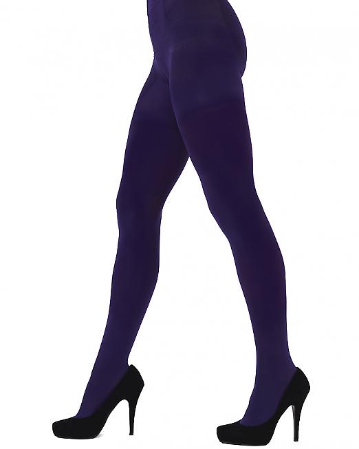 Pretty Polly 60D Colour Opaque Tights Purple