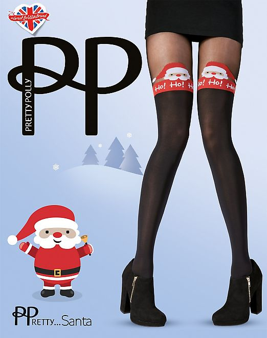Pretty Polly Santa AVL1
