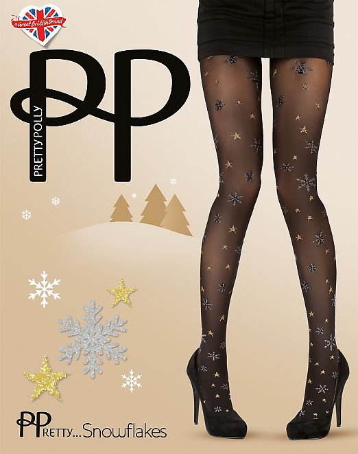 Pretty Polly Snowflakes AVL4