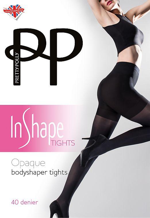 Pretty Polly Opaque Bodyshaper Tights AVS7