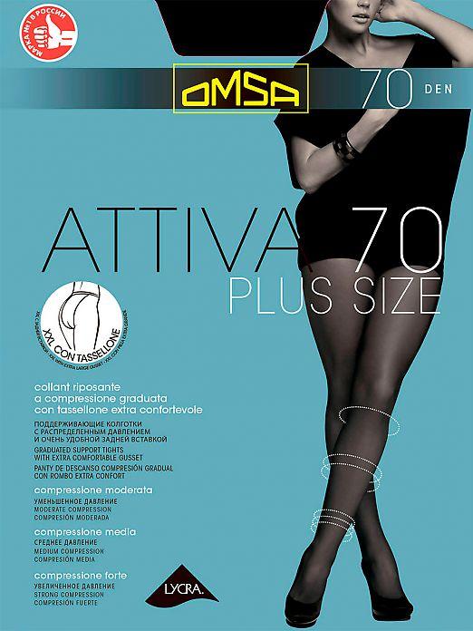 Omsa Attiva 70 XXL Plus Size