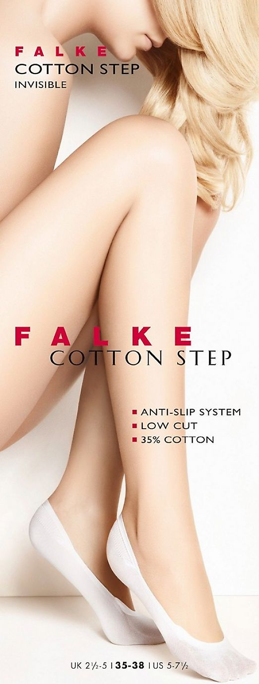 Falke Cotton Step Invisible