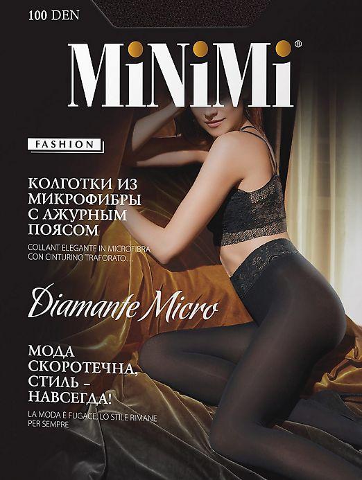 Колготки MiNiMi Diamante Micro 100