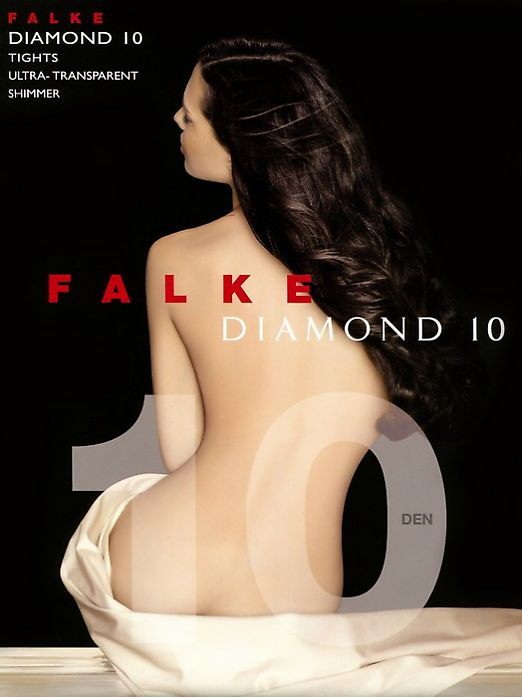 Ультра прозрачные колготки Falke Diamond 10