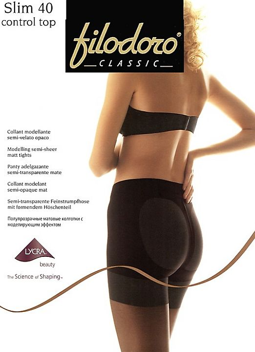 Корректирующие колготки Filodoro Classic Slim 40 Control Top