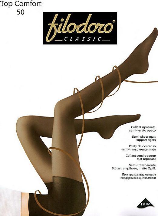 Колготки с распределенным давлением Filodoro Classic Top Comfort 50