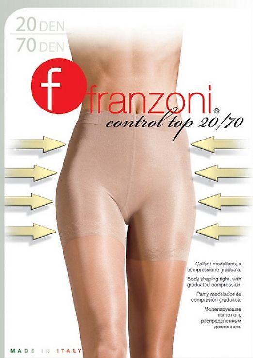 Моделирующие колготки Franzoni Control Top 20 / 70