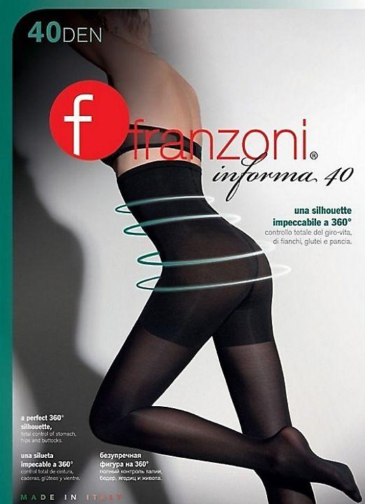 Корректирующие колготки с высокой талией Franzoni Informa 40