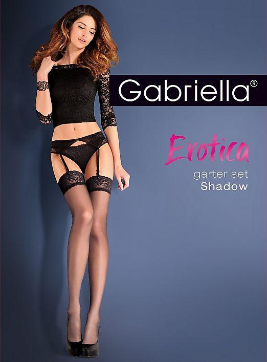 Gabriella Garter Set Shadow