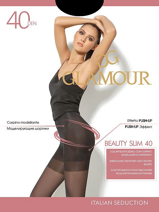 Колготки Пуш-Ап Glamour Beauty Slim 40