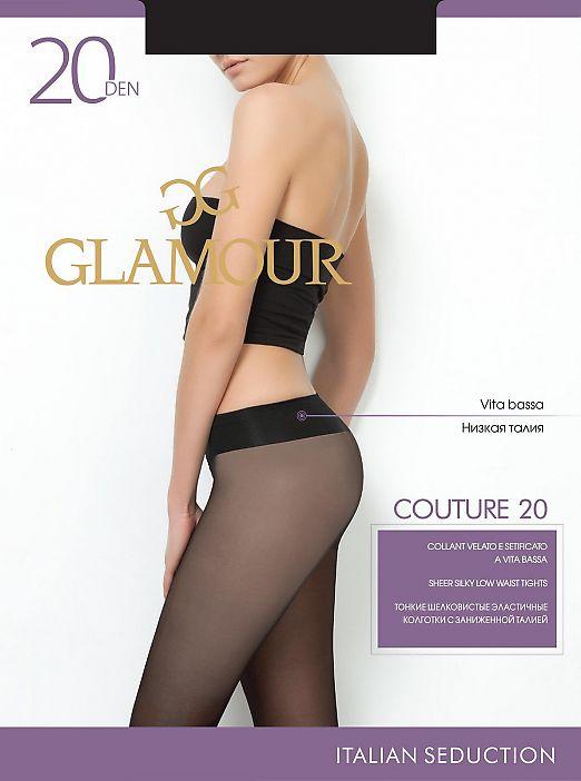 Колготки с низкой талией Glamour Couture 20