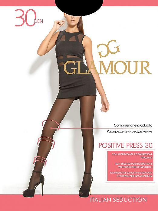 Колготки  с распределенным давлением Glamour Positive Press 30