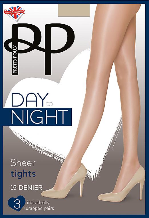 Pretty Polly Day to Night Sheer Tights 15 den GVH2